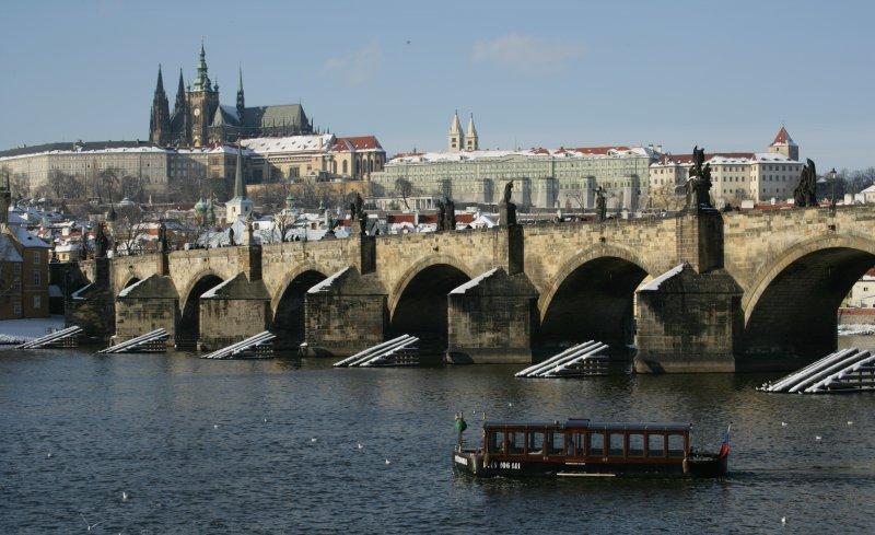 Prag im Winter
