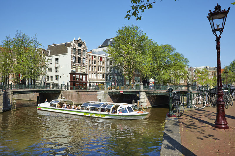 Hop-On-Hop-Off-Tour mit dem Boot Amsterdam