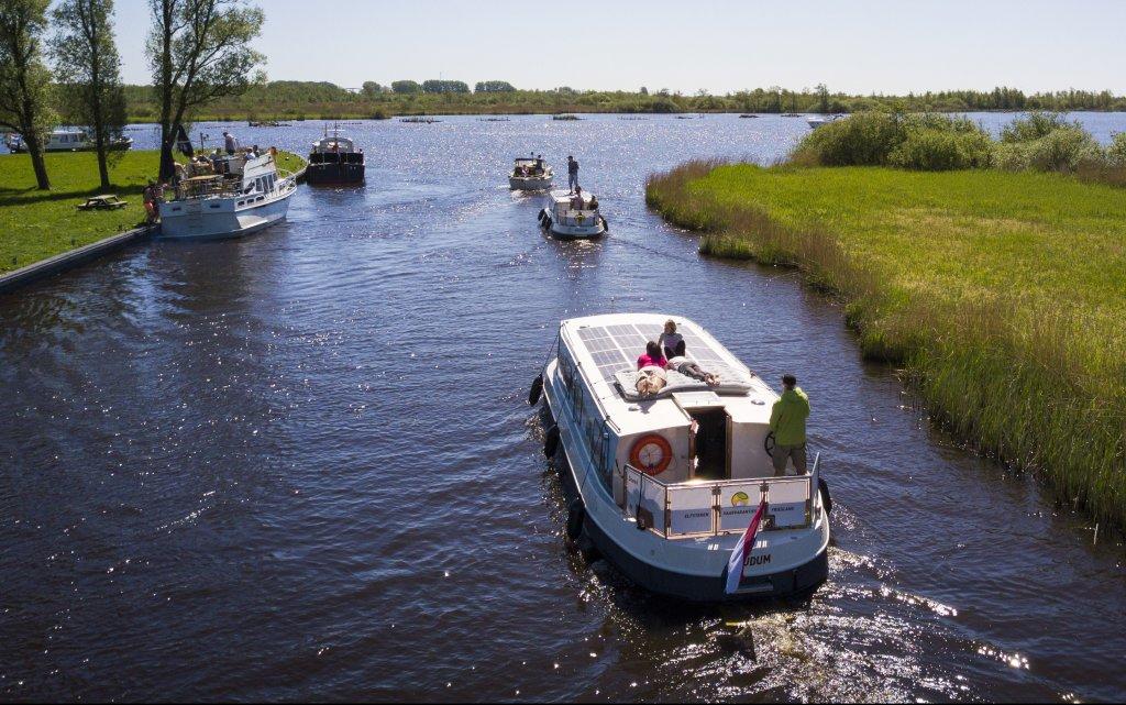 Koudum Elfsteden Vaarvakanties Friesland