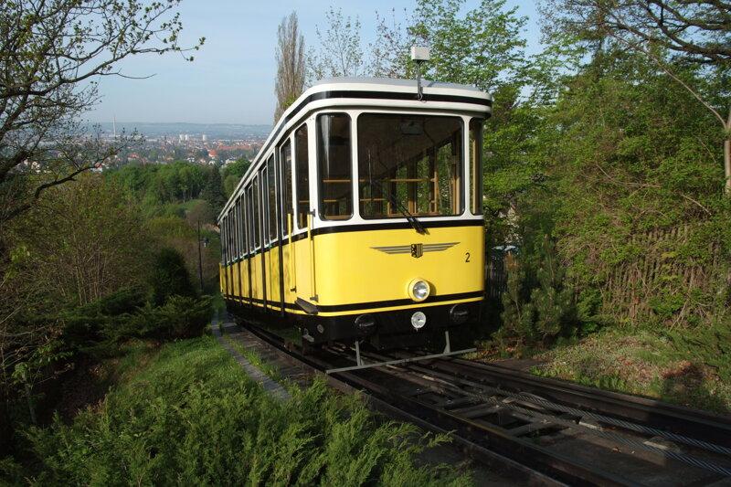 Standseilbahn Dresdner Bergbahnen