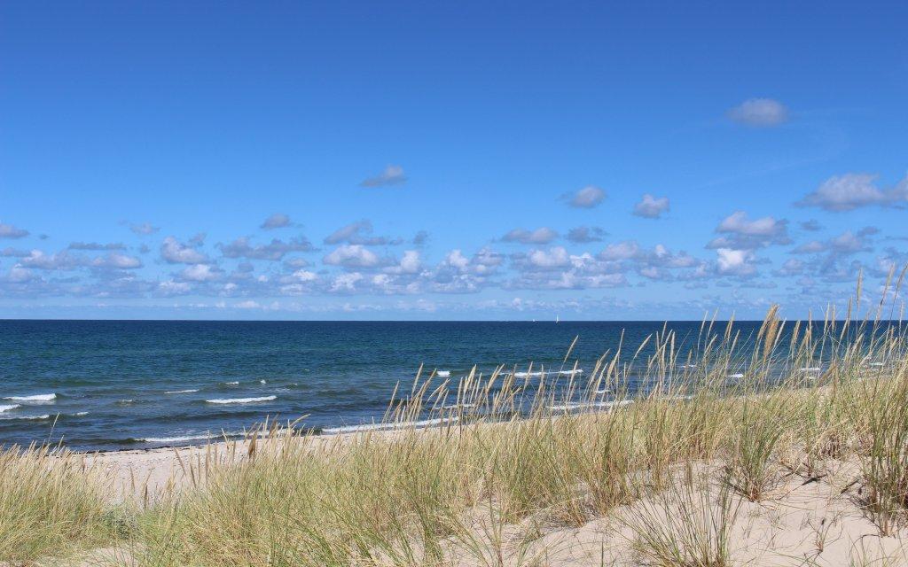 Strand an der Ostsee in Deutschland