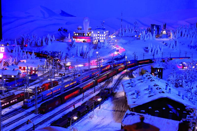 schweden-kiruna-nacht©Miniatur Wunderland GmbH