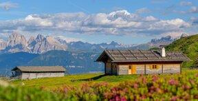 Hoteleigene Alm auf der Villanderer Alm - Südtirol