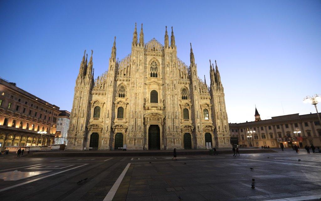 Der Dom in Mailand in Italien