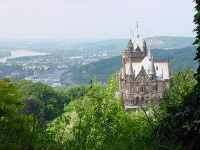 Schloss Drachenburg Landschaft