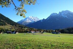 Blick auf die Alpen ohne c pixabay