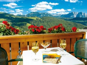 Ausblick vom Zimmer Superior Dolomiten