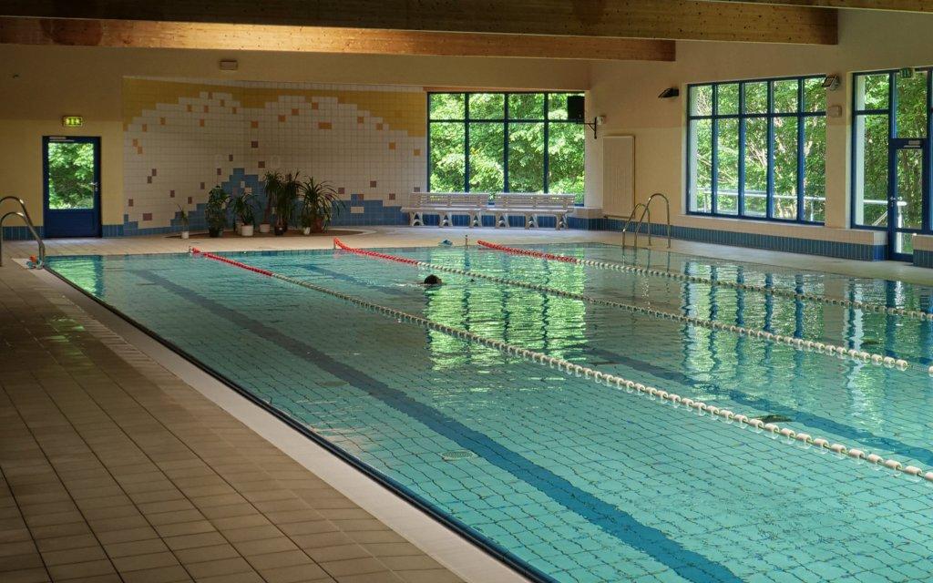 Samtens Soibelmanns Hotel Rügen Pool Hallenbad