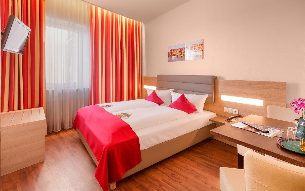 Bamberg Hotel National Doppelzimmer Zimmer