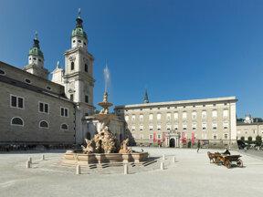 Aussenansicht Residenz c Salzburger Burgen & Schlösser