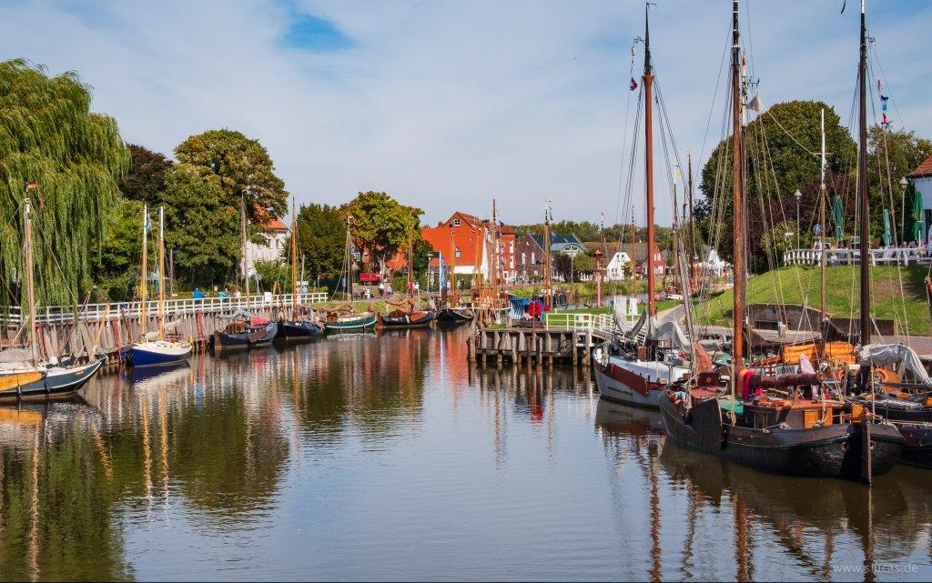 Hafen Carolinensiel in Ostfriesland