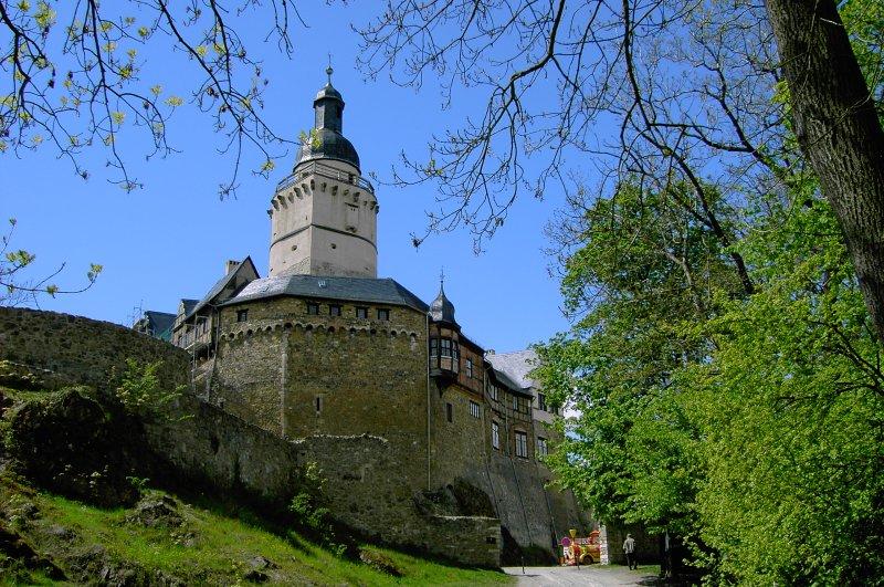 Burg Falkenstein im Harz Außenansicht