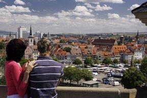 Blick auf Altstadt©Guido Werner, Thüringer Tourismus GmbH