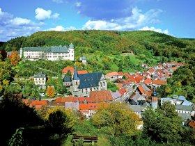 Stolberg ganz klassisch mit Schloss und Keks