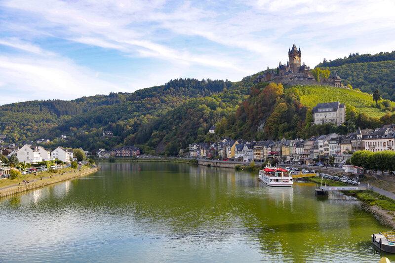 Reichsburg Cochem und die Mosel