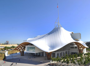 Das Centre Pompidou in Metz