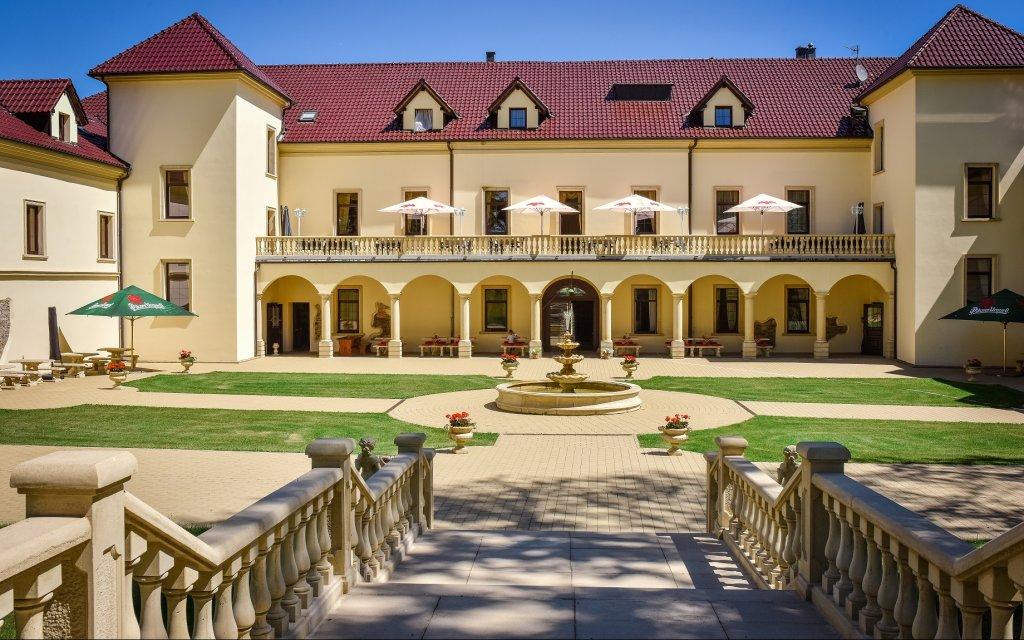 Königsberg an der Eger Chateau Kynšperk aussen Außenansicht