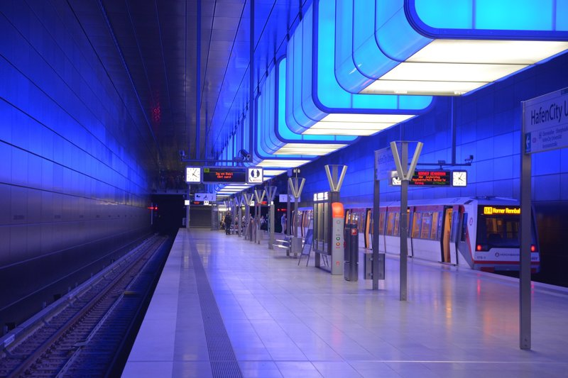 Hafencity U-Bahn Station © Pixabay