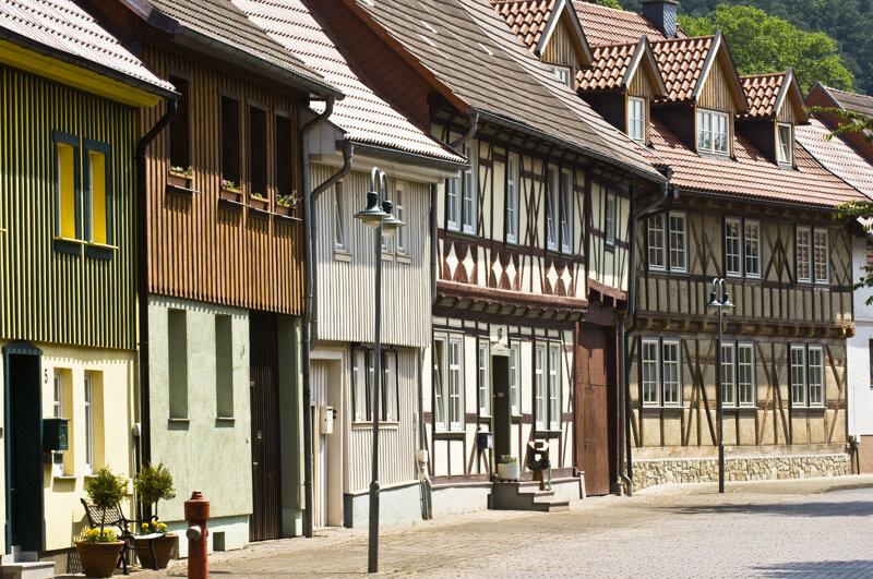Fachwerk Neustadt Nordhausen