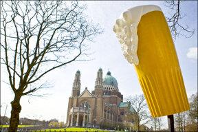 Bier als Deko
