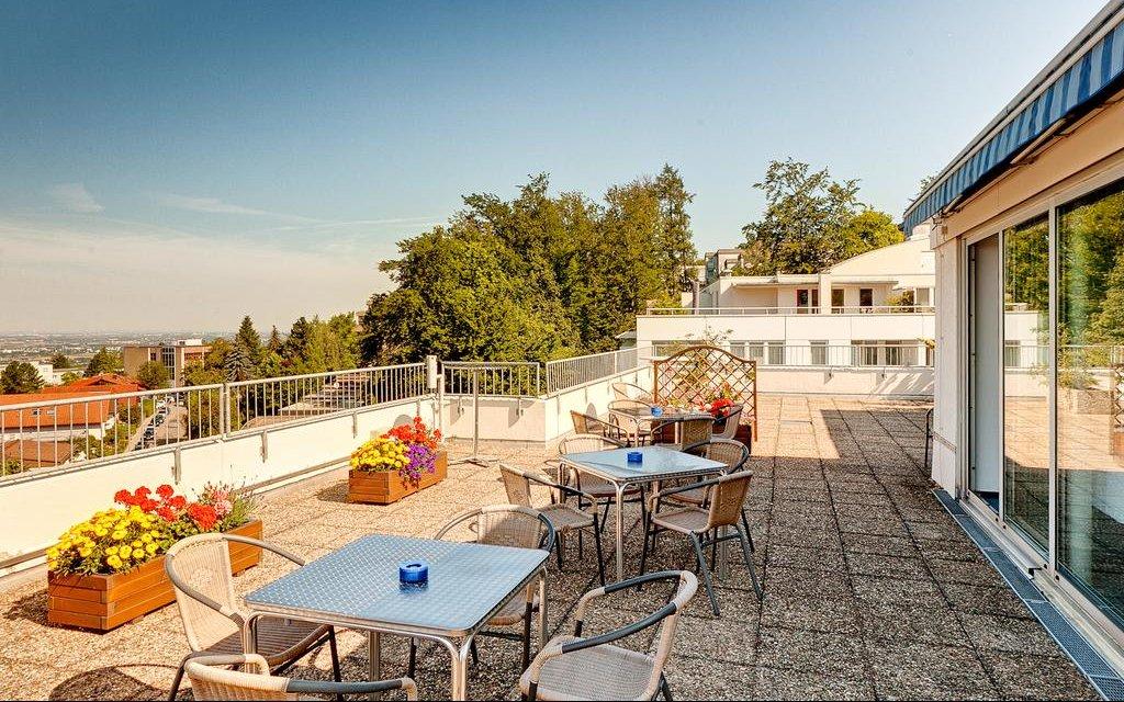 Heidelberg Hotel ISG Dachterasse