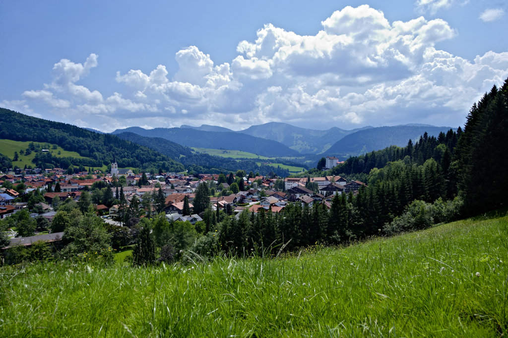Sommer in Oberstaufen