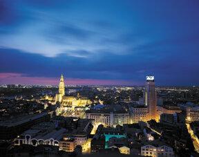 Antwerpen bei Nacht