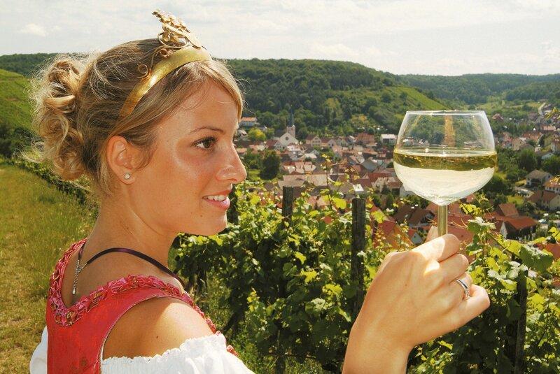 Weinkönigin Pfälzerwald