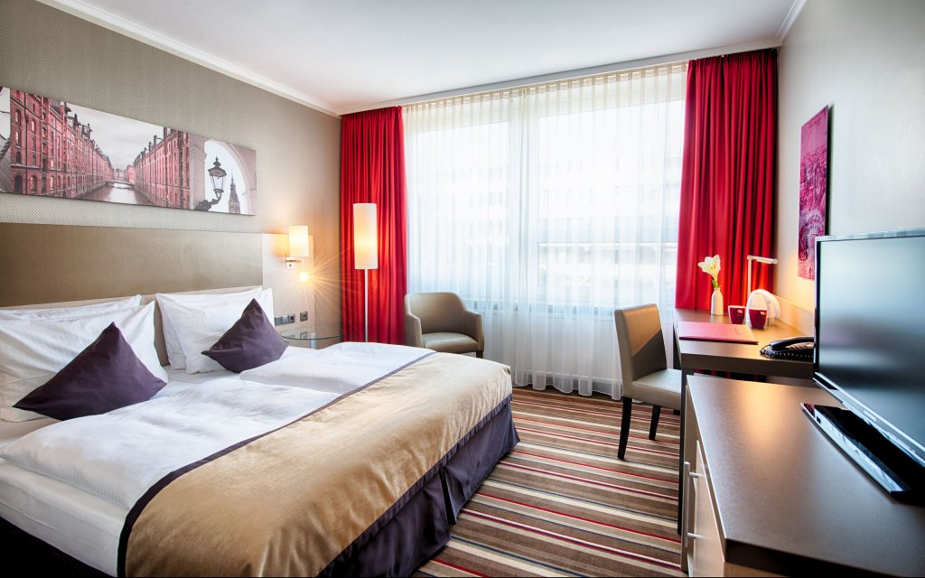 Leonardo Hotel Hamburg City Nord Zimmer Doppelzimmer