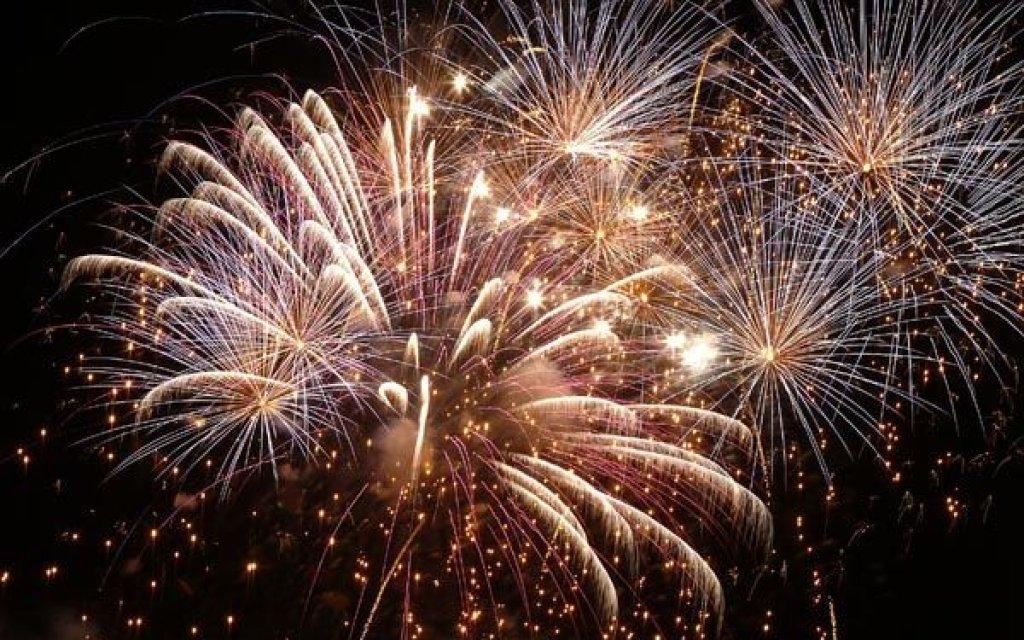 Feuerwerk in Tschechien zu Silvester