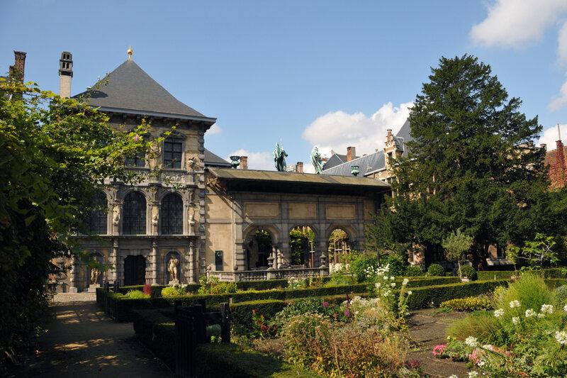 Rubens Haus, Garten