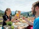 Bergblick, Brotzeit und Biergenuss im Allgäu