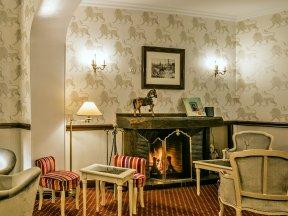 Romantik Hotel Bel Air Lounge-Ecke Foto Hotel
