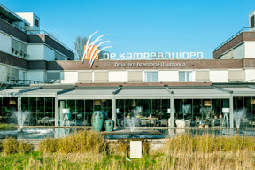 De Kamperduinen Terrasse Foto Hotel