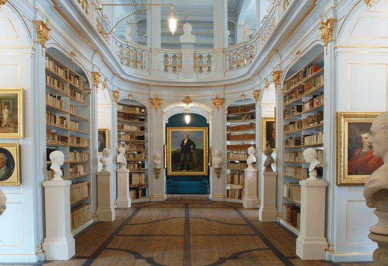Rokokosaal in der Anna-Amalia-Bibliothek Weimar