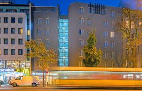 Außenansicht des Best Western Hotel Kantstrasse