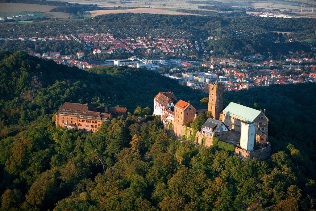 Wartburg und Eisenach