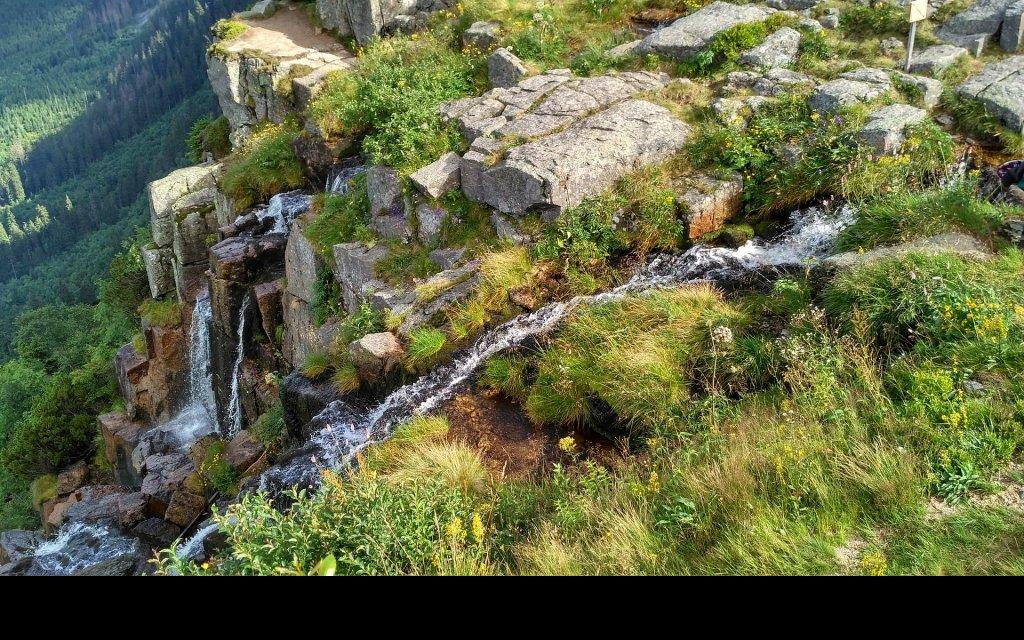 Elbfälle im Riesengebirge