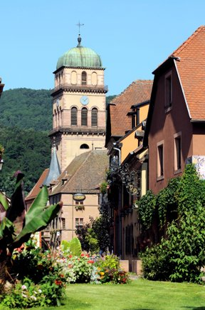 Kaysersberg, Eglise Sainte-Croix c Office de Tourisme  Vallée de Kaysersberg