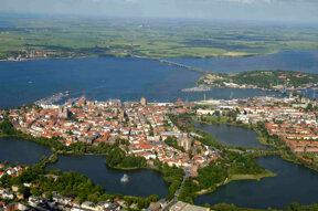 Luftaufnahme Stralsund