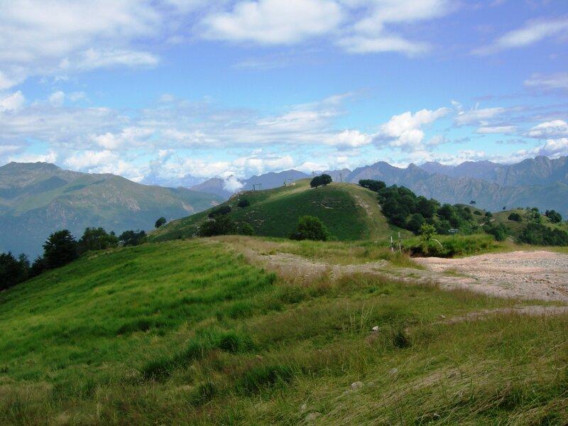 Berg Mottarone im Piemont