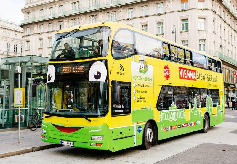 Hop-on Hop-off Bus in Wien