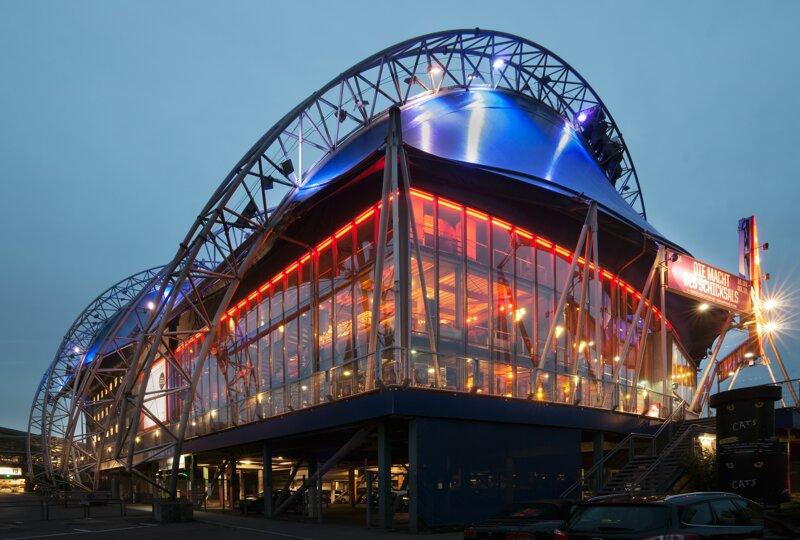 Musical Dome Köln von außen