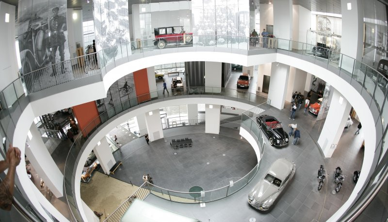 museum mobile Innenansicht