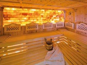 Fichtenholz Sauna sonnenhotel-adler.com Villanders