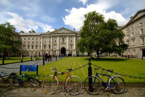 Trinity College Front Square