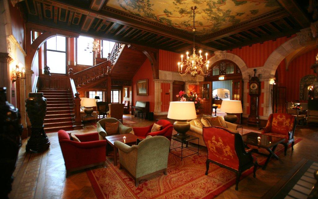 Santpoort Landgut Duin & Kruidberg Lobby Saal