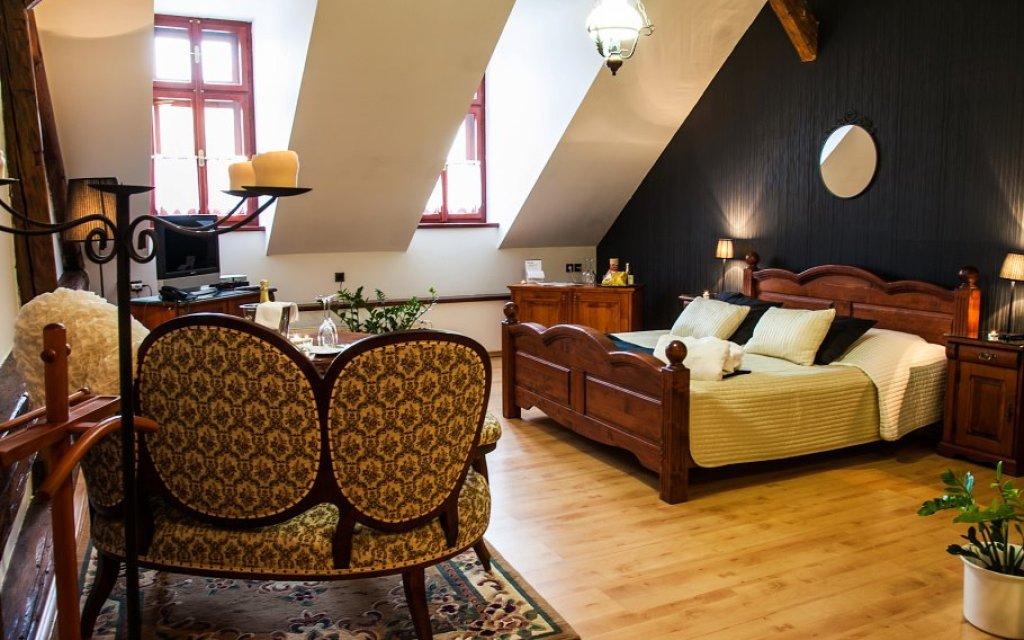 Ceská Lípa Hotel Morris Zimmer Doppelzimmer
