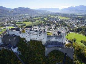 Blick auf Festung c Salzburger Burgen & Schlösser
