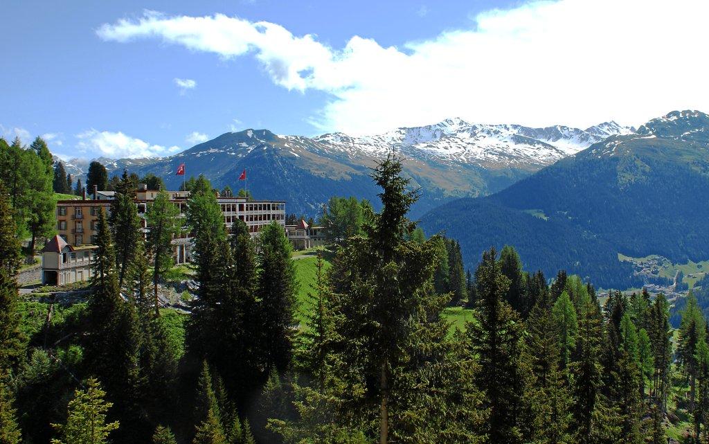Davos Snow & Mountain Resort Schatzalp aussen Außenansicht